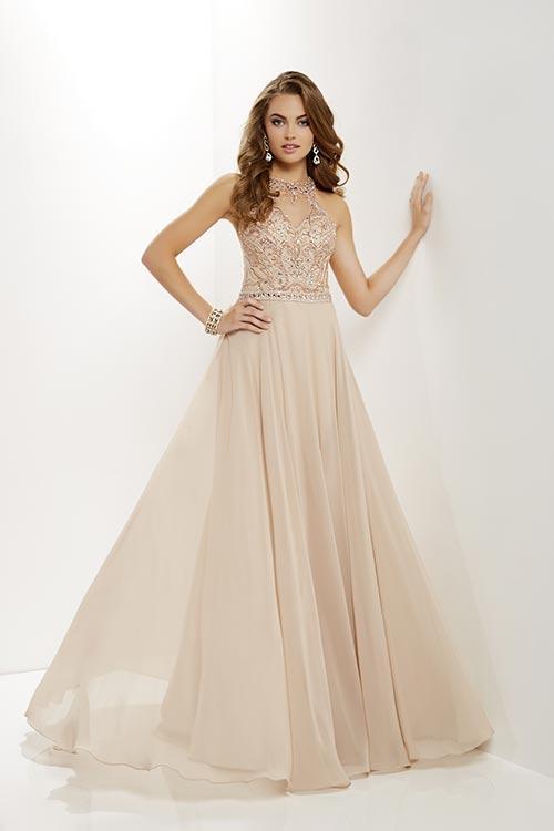 halter prom dress 12664
