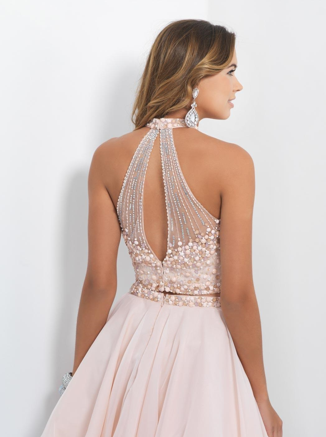 two piece date for prom dress