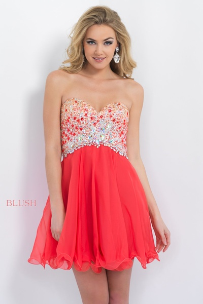 short prom date dress beaded top