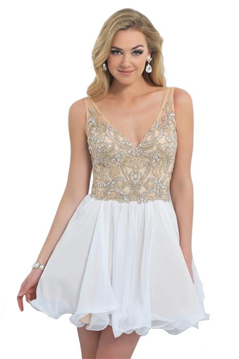 v neck dress for prom