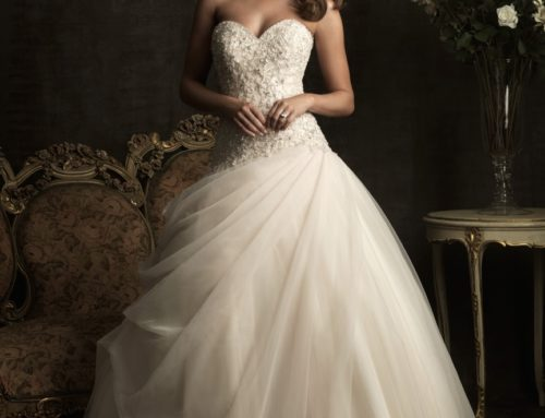 Allure wedding dress now on sale