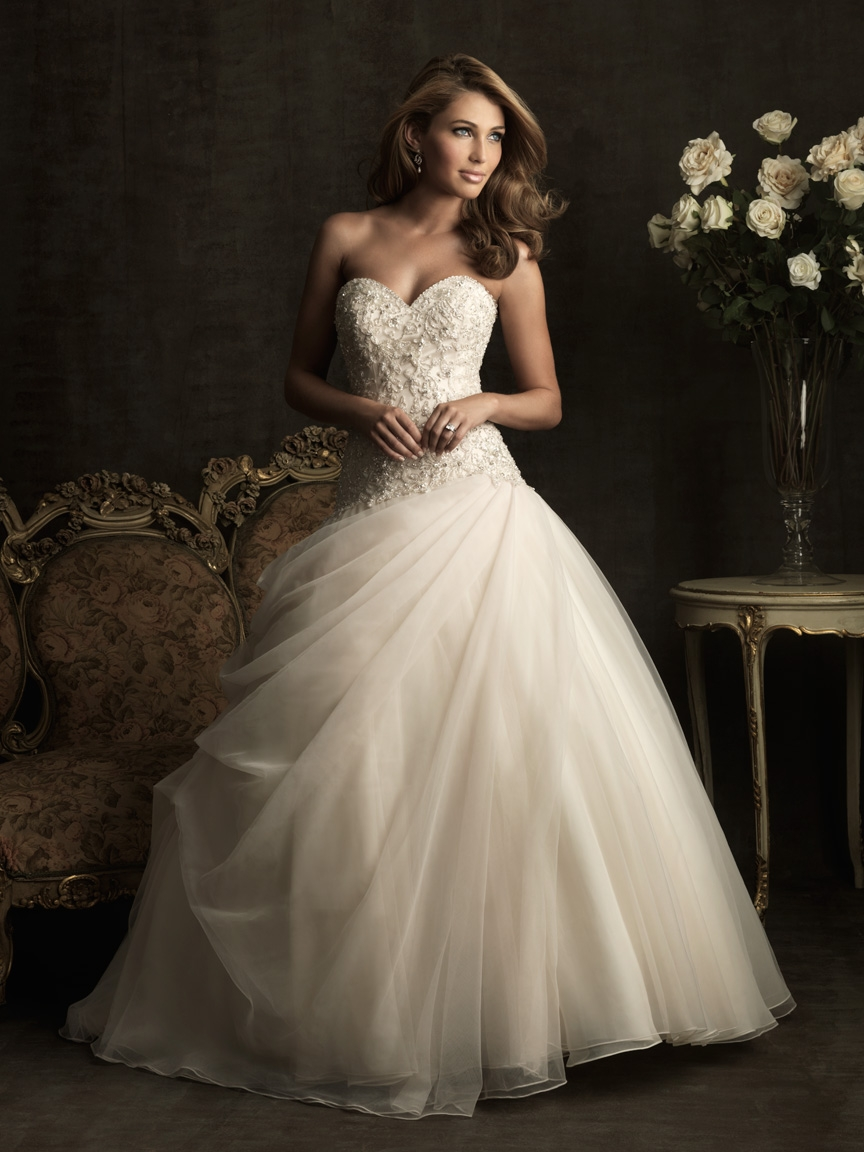 Allure wedding dress now on sale