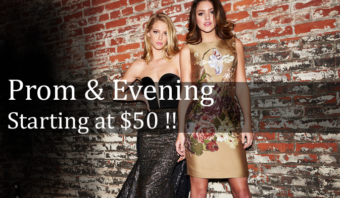 Moscatel store prom and evening promotion